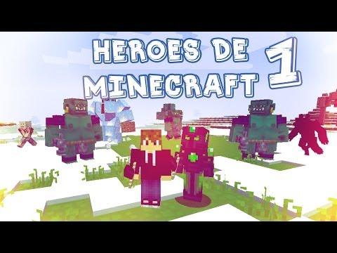 Comienzos Sangrientos!! HEROES DE MINECRAFT #1 - StaXx y Luzu
