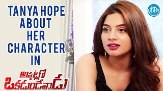 Tanya Hope About Her Character In The Movie || Talking Movies with iDream - IDREAMMOVIES