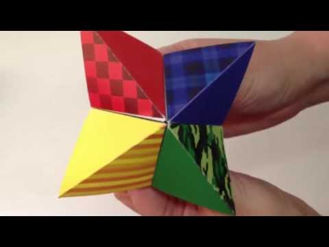 Summer Camp Cootie Catcher...or Paper Fortune Teller