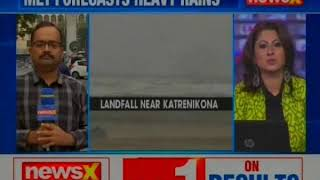 Cyclone Phethai Makes Landfall At Andhra Pradesh's Katrenikona - NEWSXLIVE