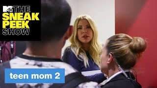 Drama Between Kailyn, Javi, & Briana Heats Up | The Sneak Peek Show | MTV - MTV