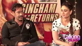 Singham Returns: Ajay Devgn | Kareena Kapoor Khan Exclusive Interview part ll - HUNGAMA