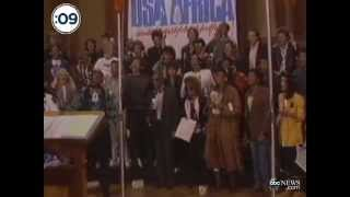 1/28/1985 'We Are The World' Recorded #TBT - ABCNEWS