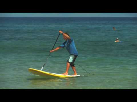 SUP instruction with Dave Kalama: How to Stand Up Paddle Board:  Lesson 05 - Turning Around
