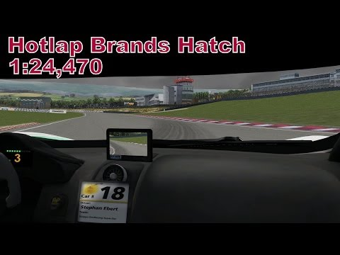 SRD DGTM 2014 Hotlap // Brands Hatch 1:24.470 // McLaren MP4-12C GT3 [Full HD]
