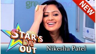 Actress Nikesha Patel in Stars Day Out 23-08-2014 Puthuyugam tv Show
