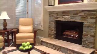 Veneer Stone Fireplaces Ledgestone - YouTube