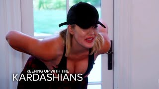 KUWTK | Khloe Kardashian Tries Out Fake Boobs | E! - EENTERTAINMENT