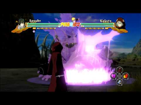 Naruto Shippuden Ultimate Ninja Storm 3: EMS Sasuke Complete Moveset (Awakening Too)