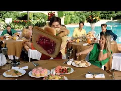 Delicious Food Fight 3D HD Samsung 3D Demo