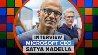 Microsoft isn't cool and CEO Satya Nadella is OK with that (Interview) - CNETTV