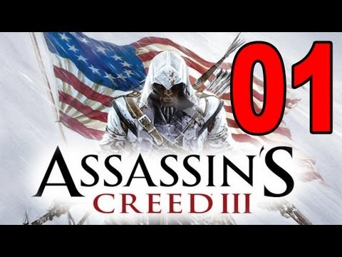 Assassins Creed 3 - Part 1 - Into the Animus (Let's Play / Walkthrough / Playthrough)