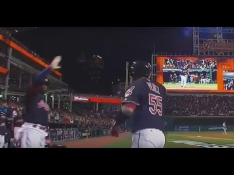 10-25 | Indians Win Game 1 of WS