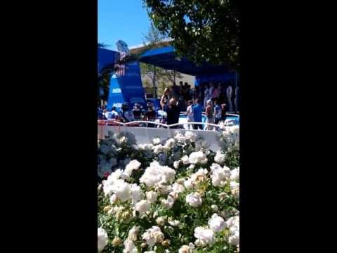 Amgen Tour of California Stage 2 Murrieta National Anthem by Joanna Pearl