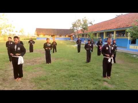 PSHT Senam Ekstrakurikuler Pencak Silat SMK NUSA MANDIRI 1 PETARUKAN 2014