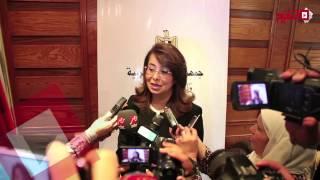 اتفرج | وزيرة التضامن تسلم الأمهات المثاليات مكافأة «السيسي»