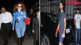 Kangana Bleed Blue In Her Rocking Avatar | Shahid Rocks In Cool Casual Looks | Style Today - ZOOMDEKHO