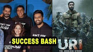 'Uri: The Surgical Strike' SUCCESS BASH with cast - IANSLIVE