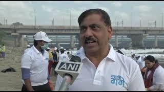21 mar, 2019 - NMCG launches drive to clean Yamuna Ghat in Delhi - ANIINDIAFILE