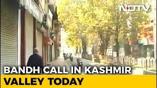 Shutdown In Kashmir Today Over Death Of 7 Civilians At Encounter Site - NDTV