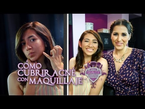 Cómo cubrir el acné con Maquillaje - Beauty Coach
