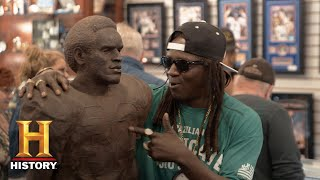 Pawn Stars: Flavor Flav's O.J. Simpson Statue (Season 14) | History - HISTORYCHANNEL