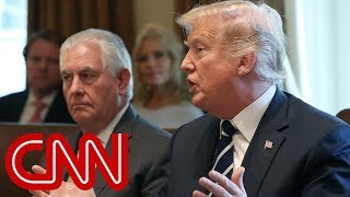 Trump fires back at Rex Tillerson: He's dumb as a rock - CNN