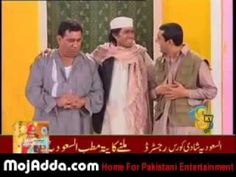 Punjabi Stage Drama Do Rangeelay 5 12 Zafri Khan Nida Nasir Chinyoti   YouTube