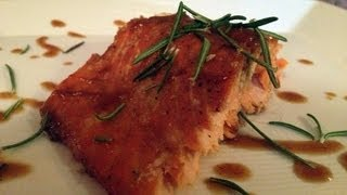 How To Make Barbecue Salmon