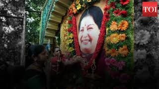 PIL to declare Jayalalithaa's death as suspicious dismissed by Madras High Court - TIMESOFINDIACHANNEL