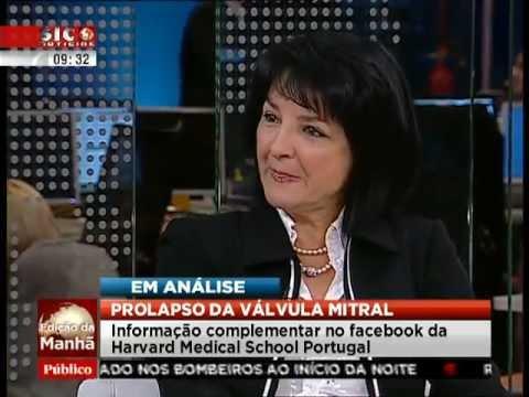 Edição da manhã, SIC Notícias: Prolapso da válvula mitral em análise com a Profª Dulce Brito