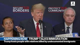 Pres. Donald Trump gives remarks on immigration with 'Angel Families'    ABC News - ABCNEWS