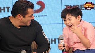 Salman Khan & Little Matin Rey's Cute Moments Steal Hearts   Bollywood News