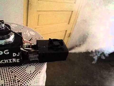 Maquina para hacer humo. casera