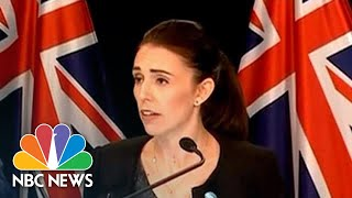 'Change Needs To Occur': New Zealand To Enact New Gun Laws Within Days | NBC News - NBCNEWS