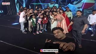 DSP Selfie With Vunnadhi Okate Zindagi Team || Vunnadhi Okate Zindagi Audio Launch | Ram, Anupama - ADITYAMUSIC