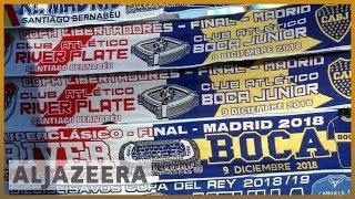 ⚽Copa Libertadores final: Boca and River to meet in Madrid now   Al Jazeera English - ALJAZEERAENGLISH