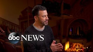 Jimmy Kimmel on his career and why he's taking on politics in the Trump era - ABCNEWS