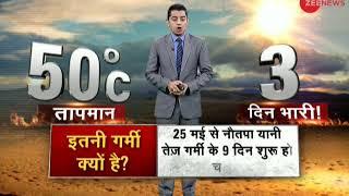 Heat wave across India worsens - ZEENEWS