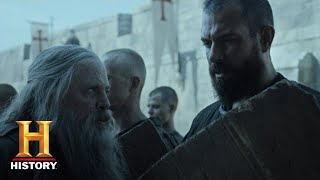 Knightfall: Talus Trains Landry and the Initiates (Season 2, Episode 1) | History - HISTORYCHANNEL