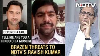 Death Threats To Ravish Kumar: How Journalists Are Hounded - NDTVINDIA