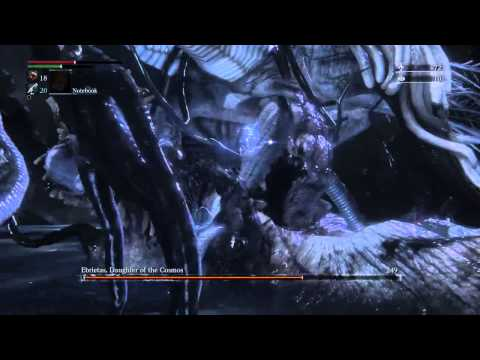 Bloodborne - Ebrietas Daughter of Cosmos [HD]