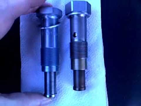 BMW e46 318i 2002 n42 chain tensioner comparison
