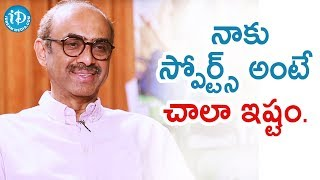 I Love Watching Sports - Producer Suresh Babu | Talking Movies With iDream | #VenkyMama - IDREAMMOVIES