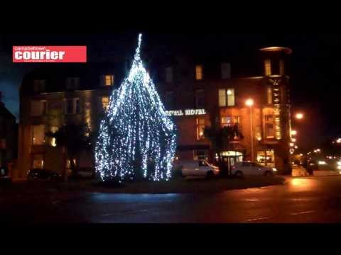Campbeltown Christmas parade and lights switch on 2013