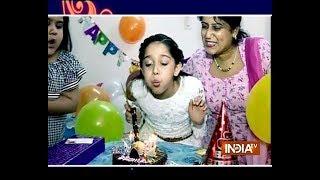 Deshna Dugad celebrates birthday with SBAS - INDIATV