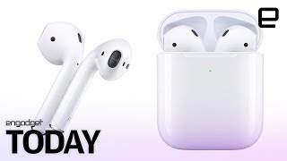Apple's new AirPods pack better battery life and Siri support - ENGADGET