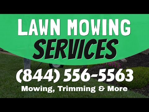 Lawn Mowing Service West Salem WI | 1(844)-556-5563 Lawn Maintenance