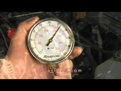 How to Test Fuel Pump and Pressure Regulator