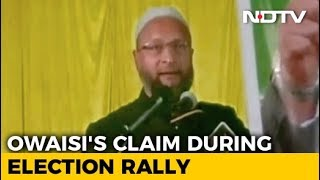 """Congress Offered Rs. 25 Lakh To Cancel Telangana Rally"": Asaduddin Owaisi - NDTV"